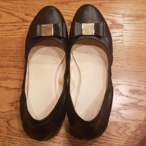 Cole Haan Tali Bow Ballet Flat Black